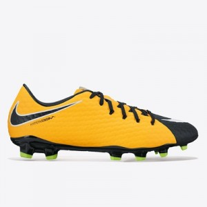 Nike Hypervenom Phelon III Firm Ground Football Boots – Laser Orange/B