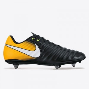 Nike Tiempo Ligera IV Soft Ground Football Boots – Black/White/Laser O