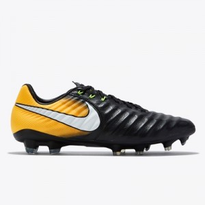 Nike Tiempo Legacy III Firm Ground Football Boots – Black/White/Laser