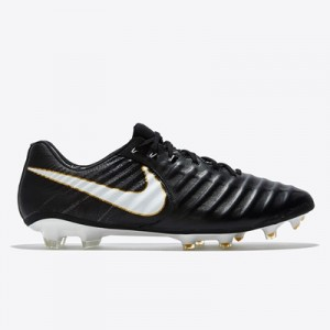 Nike Tiempo Legend VII Firm Ground Football Boots – Black/White/Black