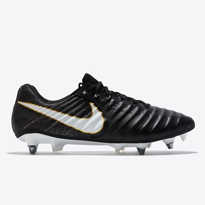Nike Tiempo Legend VII Soft Ground Pro Football Boots – Black/White/Bl