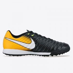 Nike Tiempo Ligera IV Astroturf Trainers – Black/White/Laser Orange/Vo