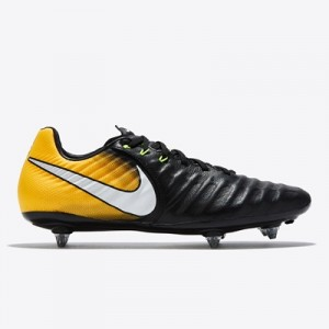 Nike Tiempo Legacy III Soft Ground Football Boots – Black/White/Laser