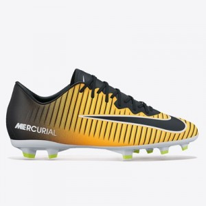 Nike Mercurial Vapor XI Firm Ground Football Boots – Laser Orange/Blac