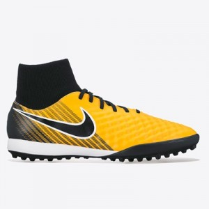 Nike Magista Onda II Dynamic Fit Astroturf Trainers – Laser Orange/Bla