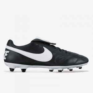 Nike Premier II Firm Ground Football Boots – Black/White/Black