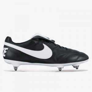 Nike Premier II Soft Ground Football Boots – Black/White/Black