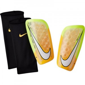 Nike Mercurial Flylite Shinguards – Laser Orange/Volt/White