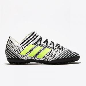 adidas Nemeziz Tango 17.3 Astroturf Trainers – White/Solar Yellow/Core