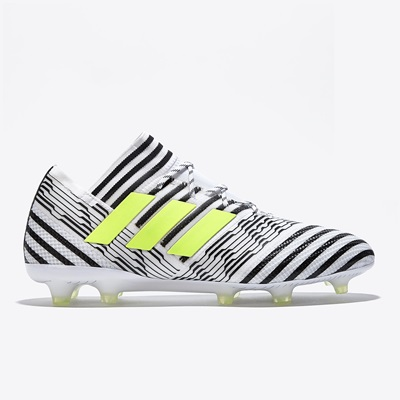 adidas Nemeziz 17.1 Firm Ground Football Boots – White/Solar Yellow/Co