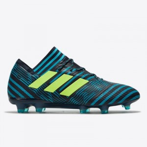 adidas Nemeziz 17.1 Firm Ground Football Boots – Legend Ink/Solar Yell