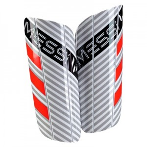 adidas Messi 10 Shinguards – White/Clear Onix/Black