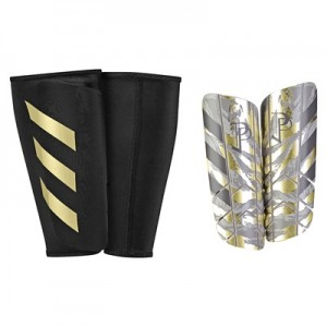 adidas Ghost Graphic Paul Pogba Shinguards – Clear Brown/Light Brown/S