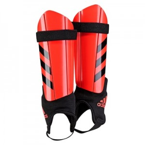 adidas Ghost Shinguards – Solar Red/Black – Youth