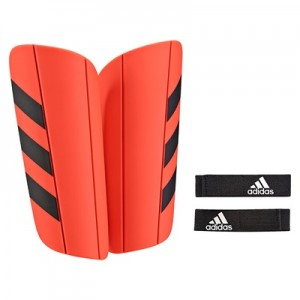 adidas Ghost Euro Shinguards – Solar Red/Black