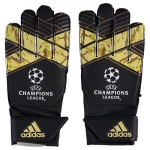 adidas Young Pro UEFA Champions League Goalkeeper Gloves – Black/White