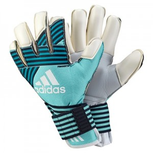 adidas Ace Trans Finger Tip Goalkeeper Gloves – Energy Aqua/Energy Blu