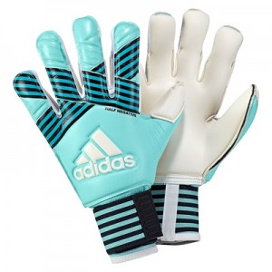 adidas Ace Half Negative Goalkeeper Gloves – Energy Aqua/Energy Blue/L