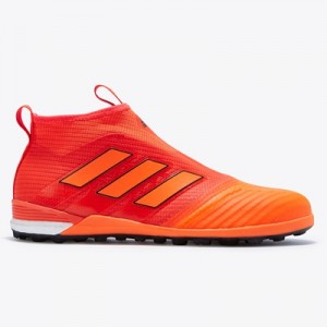 adidas Ace Tango 17+ Purecontrol Astroturf Trainers – Solar Red/Solar
