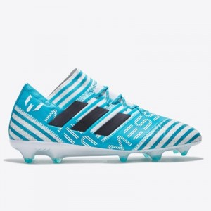 adidas Nemeziz Messi 17.1 Firm Ground Football Boots – White/Legend In
