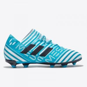 adidas Nemeziz Messi 17.1 Firm Ground Football Boots – White/Legend In