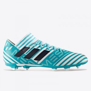 adidas Nemeziz Messi 17.3 Firm Ground Football Boots – White/Legend In