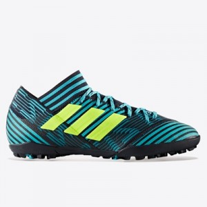 adidas Nemeziz Tango 17.3 Astroturf Trainers – Legend Ink/Solar Yellow