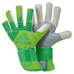 adidas Ace Next Gen Pro Goalkeeper Gloves – Semi Solar Green/Energy Gr