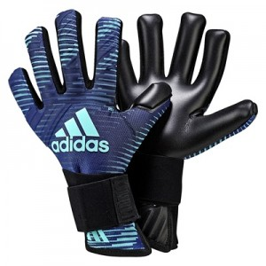 adidas Ace Thunderstorm Goalkeeper Gloves – Mystery Ink/Legend Ink/Ene