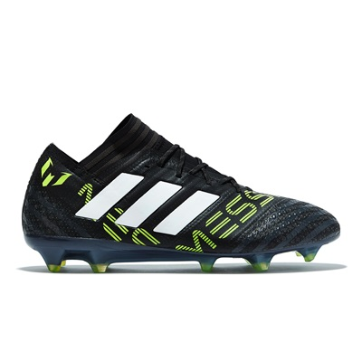 adidas Nemeziz Messi 17.1 Firm Ground Football Boots – Core Black/Whit