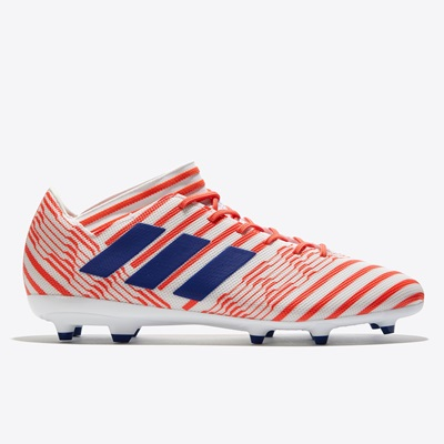 adidas Nemeziz 17.3 Firm Ground Football Boots – White/Mystery Ink/Eas