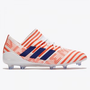 adidas Nemeziz 17.1 Firm Ground Football Boots – White/Mystery Ink/Eas