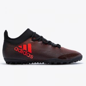 adidas X Tango 17.3 Astroturf Trainers – Core Black/Solar Red/Solar Or