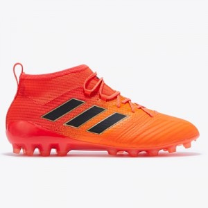 adidas Ace 17.1 Artificial Grass Football Boots – Solar Orange/Core Bl