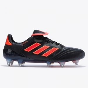 adidas Copa 17.1 Soft Ground Football Boots – Core Black/Solar Red/Sol