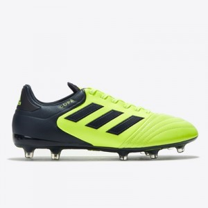 adidas Copa 17.2 Firm Ground Football Boots – Solar Yellow/Legend Ink/