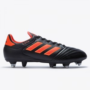 adidas Copa 17.2 Soft Ground Football Boots – Core Black/Solar Red/Sol