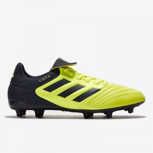 adidas Copa 17.3 Firm Ground Football Boots – Solar Yellow/Legend Ink/