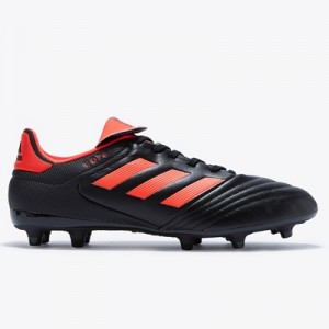 adidas Copa 17.3 Firm Ground Football Boots – Core Black/Solar Red/Sol