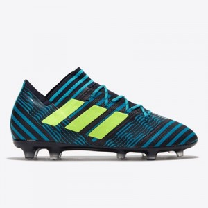 adidas Nemeziz 17.2 Firm Ground Football Boots – Legend Ink/Solar Yell