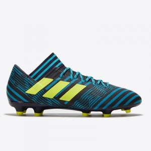 adidas Nemeziz 17.3 Firm Ground Football Boots – Legend Ink/Solar Yell