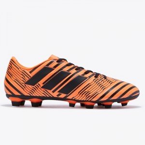 adidas Nemeziz 17.4 Firm Ground Football Boots – Solar Orange/Core Bla