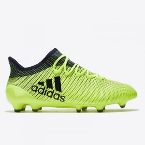 adidas X 17.1 Firm Ground Football Boots – Solar Yellow/Legend Ink/Leg