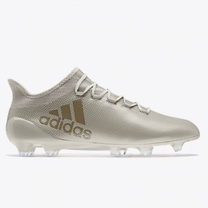 adidas X 17.1 Firm Ground Football Boots – Sesame/Clay/Clay