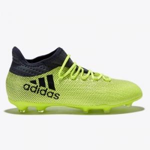 adidas X 17.1 Firm Ground Football Boots – Solar Yellow/Legend Ink/Leg