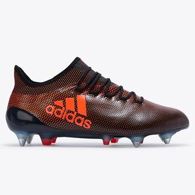 adidas X 17.1 Soft Ground Football Boots – Core Black/Solar Red/Solar