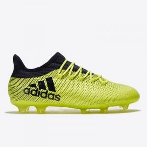 adidas X 17.2 Firm Ground Football Boots – Solar Yellow/Legend Ink/Leg