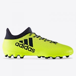 adidas X 17.3 Artificial Grass Football Boots – Solar Yellow/Legend In