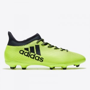 adidas X 17.3 Firm Ground Football Boots – Solar Yellow/Legend Ink/Leg