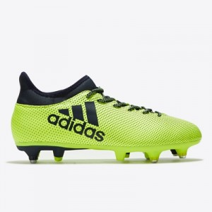adidas X 17.3 Soft Ground Football Boots – Solar Yellow/Legend Ink/Leg